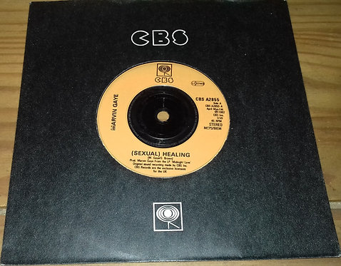 "Marvin Gaye - (Sexual) Healing (7"", Single, Ora) (CBS)"