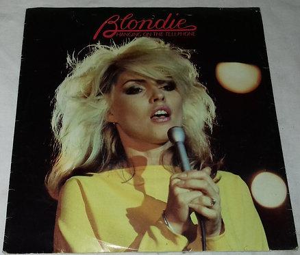 "Blondie - Hanging On The Telephone (7"", Single, Styrene, Sol) (Chrysalis, Chrys"