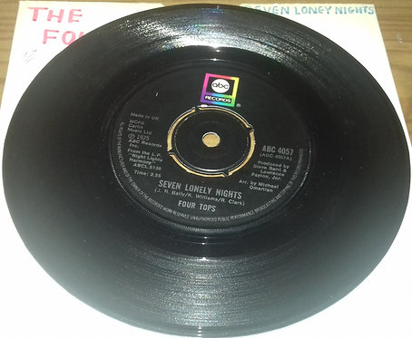 "Four Tops - Seven Lonely Nights (7"") (ABC Records)"