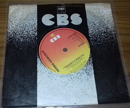 """Herbie Hancock - I Thought It Was You (7"""", Single) (CBS)"""