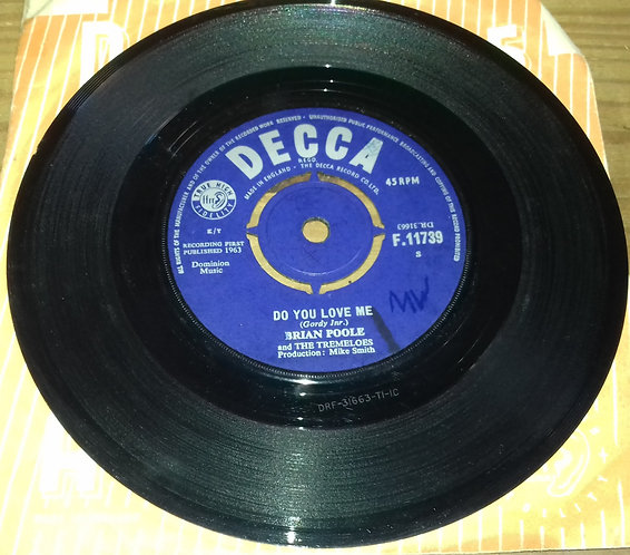 "Brian Poole & The Tremeloes - Do You Love Me (7"", Single) (Decca)"