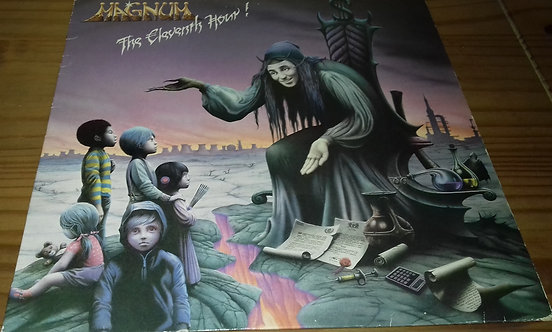 Magnum  - The Eleventh Hour! (LP, Album) (Jet Records)