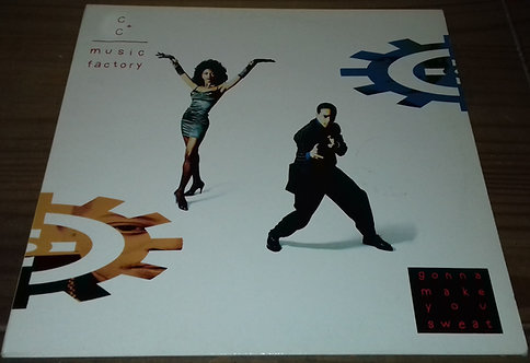 C + C Music Factory - Gonna Make You Sweat (LP, Album) (CBS)