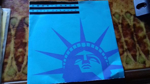 "Holly Johnson - Americanos (7"", Single) (MCA Records)"