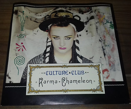 "Culture Club - Karma Chameleon (7"", Single, Pap) (Virgin, Virgin)"