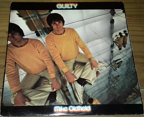 "Mike Oldfield - Guilty (7"", Single, Red) (Virgin, Virgin)"