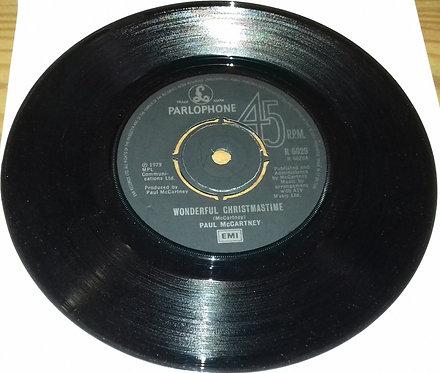 "Paul McCartney - Wonderful Christmastime (7"", Single) (Parlophone)"