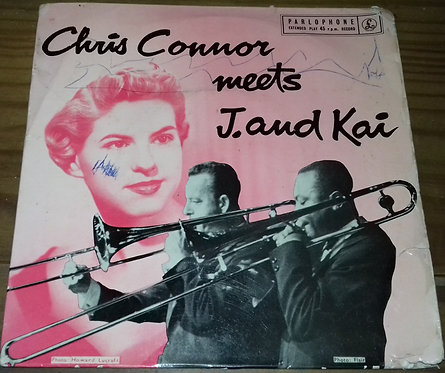"""Chris Connor - Chris Connor Meets J And Kai (7"""", EP) (Parlophone)"""