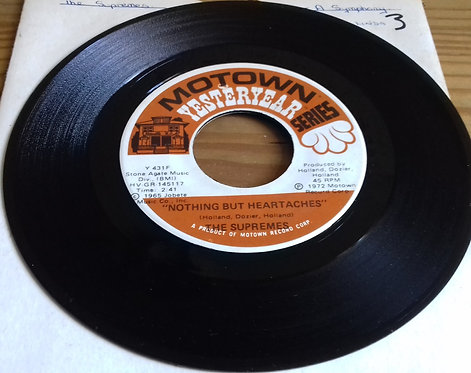 """The Supremes - Nothing But Heartaches / I Hear A Symphony (7"""", Single) (Motown)"""