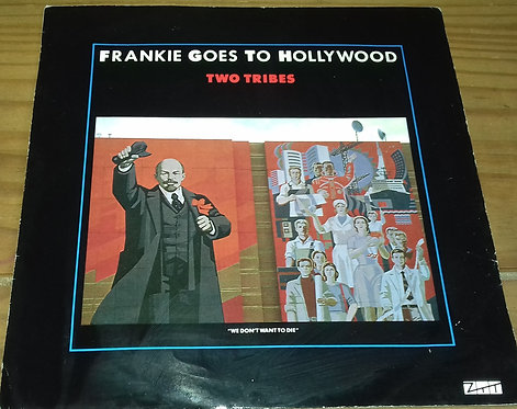 """Frankie Goes To Hollywood - Two Tribes (7"""", Single) (ZTT)"""
