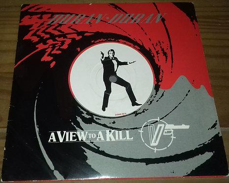"""Duran Duran - A View To A Kill (7"""", Single) (Parlophone)"""