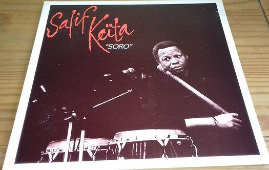 Salif Keita - Soro (LP, Album, Gat) (Stern's Africa)