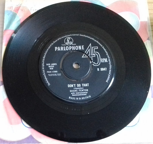 "Shane Fenton - Don't Do That (7"", Single) (Parlophone)"