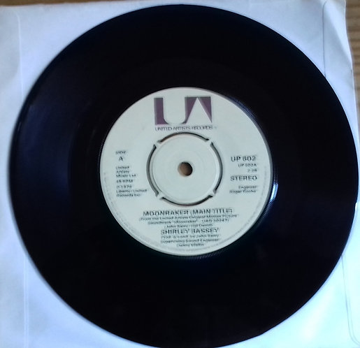 "Shirley Bassey - Moonraker (Main Title) (7"", Single) (United Artists Records)"
