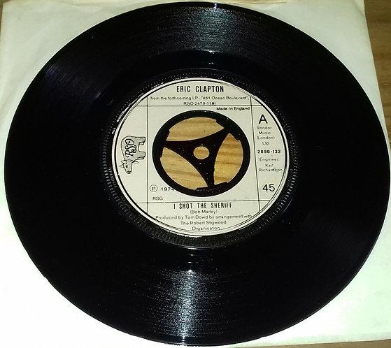 "Eric Clapton - I Shot The Sheriff (7"") (RSO)"
