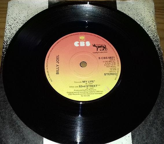 "Billy Joel - My Life (7"", Single) (CBS)"