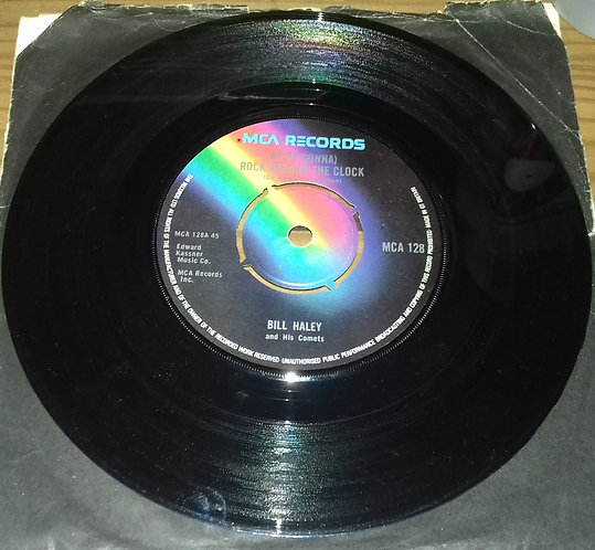 """Bill Haley And His Comets - (We're Gonna) Rock Around The Clock (7"""", Single) (M"""