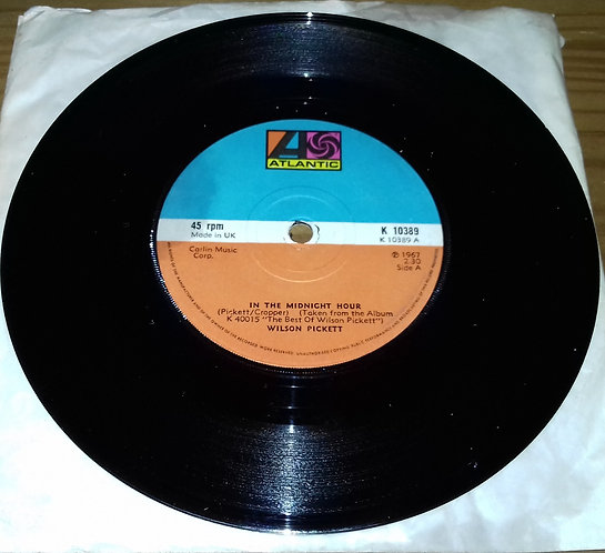 "Wilson Pickett - In The Midnight Hour (7"", RE) (Atlantic)"