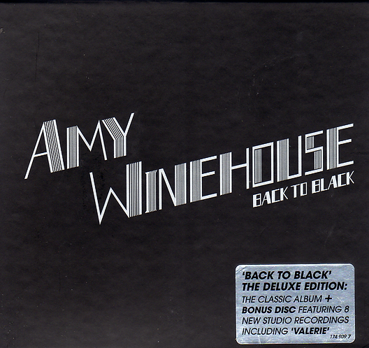 Amy Winehouse – Back To Black 2 × CD, Album, Deluxe Edition, Repress