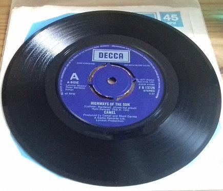 """Camel - Highways Of The Sun (7"""", Single) (Decca, Gama (3))"""