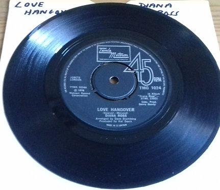 "Diana Ross - Love Hangover (7"", Single) (Tamla Motown)"