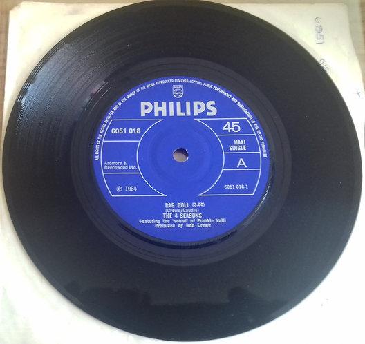 "The 4 Seasons - Rag Doll (7"", EP) (Philips)"