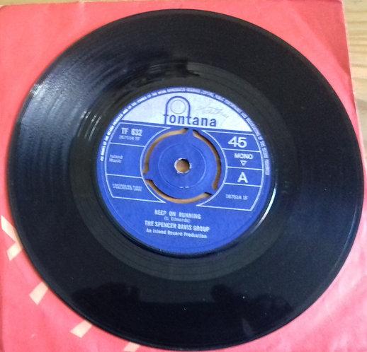 "The Spencer Davis Group - Keep On Running (7"", Single, Mono, 3-P) (Fontana, Font"