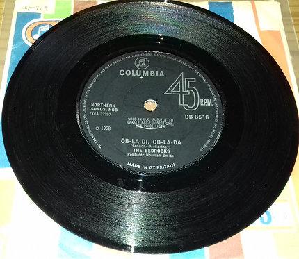 "The Bedrocks - Ob-La-Di, Ob-La-Da (7"", Single, Sol) (Columbia)"