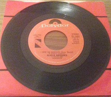 "Alicia Bridges - I Love The Nightlife (Disco 'Round) (7"", Single) (Polydor)"