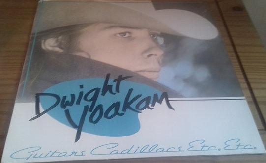 Dwight Yoakam - Guitars, Cadillacs, Etc., Etc. (LP, Album) (Reprise Records)