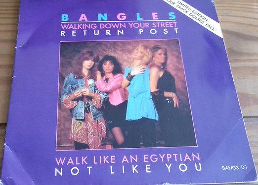 "Bangles - Walking Down Your Street (2x7"", Single, Ltd) (CBS)"