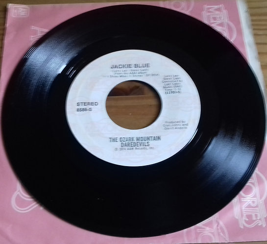"The Ozark Mountain Daredevils - Jackie Blue (7"", Single, RE, Styrene) (A&M Recor"