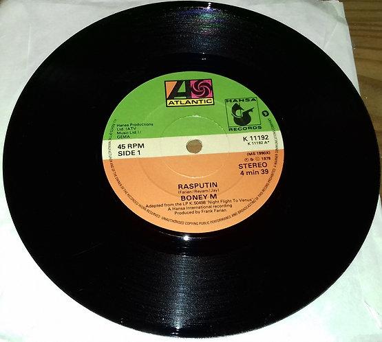"Boney M* - Rasputin (7"", Single) (Atlantic, Hansa Records, Atlantic)"