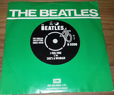 "The Beatles - I Feel Fine c/w She's A Woman (7"", Single, RE) (Parlophone, Apple"