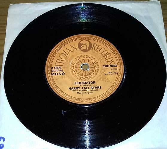 "The Pioneers / Harry J. All Stars - Long Shot Kick De Bucket / Liquidator (7"", M"
