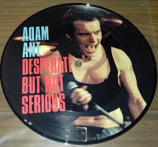 "Adam Ant - Desperate But Not Serious (7"", Single, Pic) (CBS)"