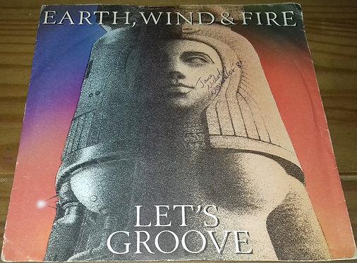"Earth, Wind & Fire - Let's Groove (7"", Single, Inj) (CBS)"