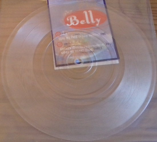 "Belly - Seal My Fate (7"", Ltd, Num, Cle) (4AD)"
