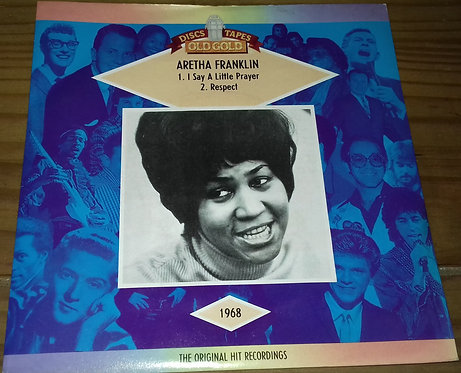 "Aretha Franklin - I Say A Little Prayer / Respect (7"", Mono) (Old Gold (2))"