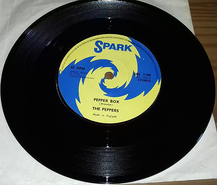 "The Peppers - Pepper Box (7"", Single, Blu) (Spark)"