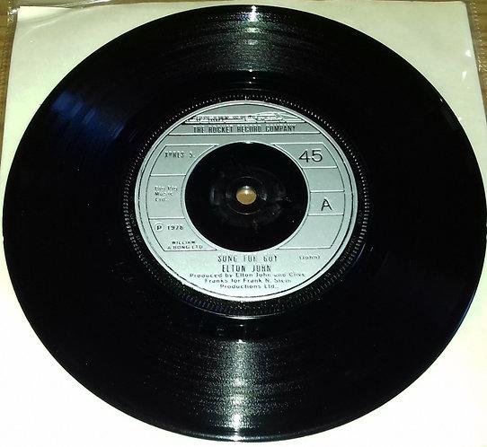 """Elton John - Song For Guy (7"""", Single, Bla) (The Rocket Record Company)"""