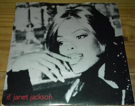 "Janet Jackson - If (7"") (Virgin, Virgin, JDJ Entertainment)"
