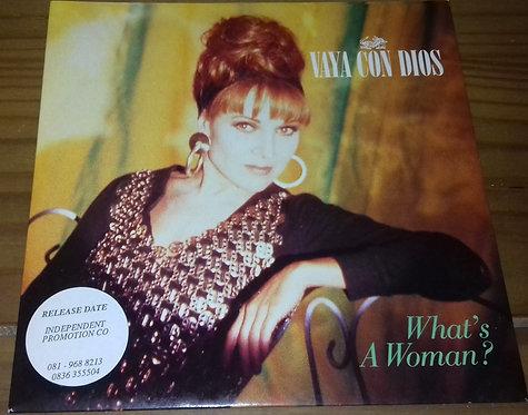 "Vaya Con Dios - What's A Woman? (7"", Single) (RCA)"