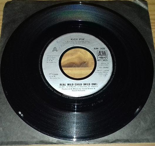 "Iggy Pop - Real Wild Child (Wild One) (7"", Single, Sol) (A&M Records)"