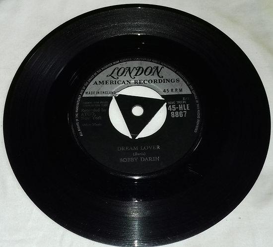 "Bobby Darin - Dream Lover / Bullmoose (7"", Single, Tri) (London Records, London"