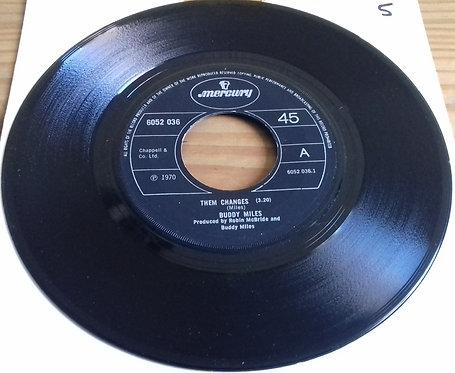 "Buddy Miles - Them Changes (7"", Single) (Mercury)"