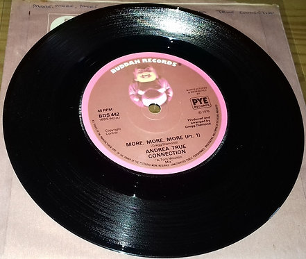 """Andrea True Connection - More, More, More (7"""", Single, Sol) (Buddah Records)"""
