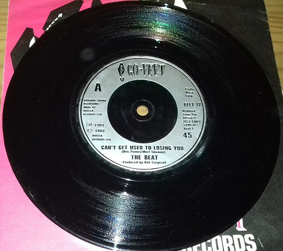 """The Beat  - Can't Get Used To Losing You (7"""", Single, Sil) (Go-Feet Records)"""