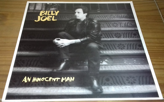 Billy Joel - An Innocent Man (LP, RE, Red) (CBS, Family Productions)