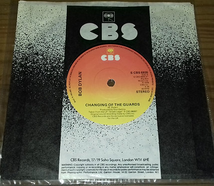 """Bob Dylan - Changing Of The Guards (7"""", Single) (CBS)"""